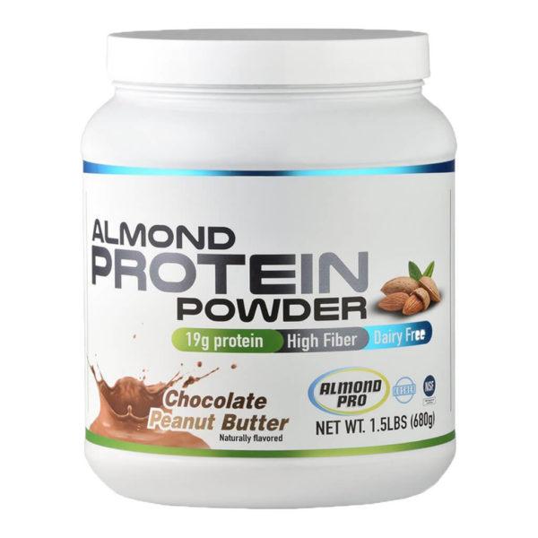Whey Protein Almond vegan PEANUT BUTTER