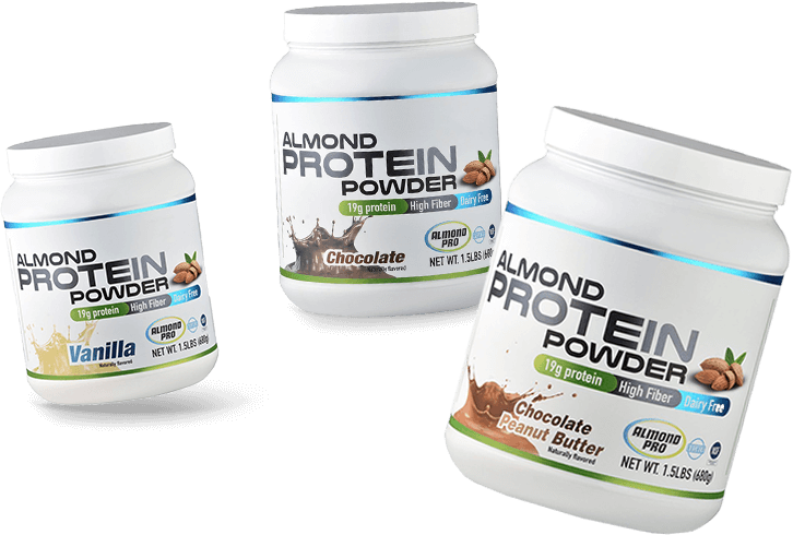 Almond protein for weightlos and Meal supplement